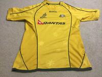 Kooga Australian Wallabies 2010 2011 Jersey Size W69cm L50cm Rugby Union Replica