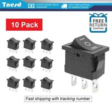 10 Pcs Onoffon Spdt 3 Position Micro Mini Toggle Switch 10 Amp 125v 3 Pin