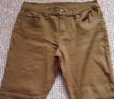QVC Diane Gilman Superstretch Bootcut with Signature Plaque Size 12 Short Length