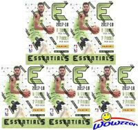 (5) 2017/18 Panini Essentials Basketball EXCLUSIVE Factory Sealed Blaster Box !