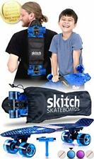 Skateboard 22 Inch Mini Cruiser Board+Skateboard Backpack + Skate Tool+Tote Bag