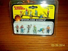 Woodland Scenics HO Scale # A1865 Track Workers new in package