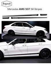 Mercedes AMG 507 style side stripes