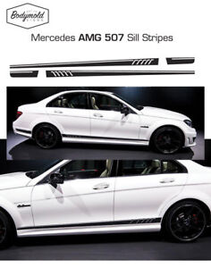 Mercedes AMG 507 style side stripes