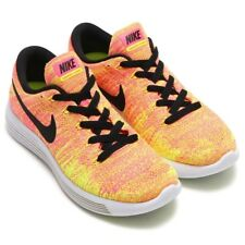 Nike Womens LunarEpic Low Flyknit Multicolour Running Trainers Size UK 4.5