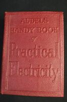 Audels Handy Book of Practical Electricity by Frank D Graham Red Cover