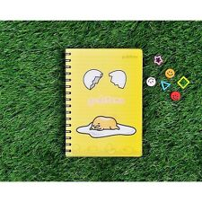 Sanrio Gudetama Lazy Egg A5 PP Cover Lined Notebook Note Pad : Cracked Egg