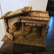 NEW Vintage Sears Nativity Stable (STABLE ONLY)