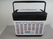 NASCAR Moog Advance Auto Parts Race Cars Advertising Black Cooler Lunch Box USA