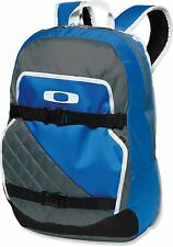 NWT Brand New Oakley Streetman 2.0 Backpack Blue Grey Gray Pack School Bag