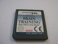 brain training ds game only