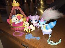 Disney Princess Palace Pets Canopy Bed & Palace Pets, chair, brush