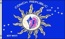 2x3 Key West Conch Republic Florida Keys Flag 2'x3' House Banner Premium