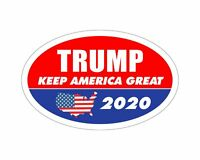 *Oval Car Magnet* Trump 2020 Trump Keep America Great TO445