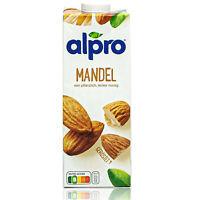 Alpro - Mandeldrink Original 1 Liter - Mandel Almond Drink 100 % pflanzlich