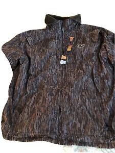 DRAKE WATERFOWL MST FLEECE LINED PULLOVER 2.0 JACKET M/O Bottomland CAMO XL