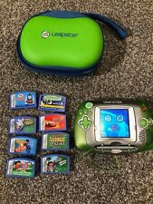 Leap Frog Leapster Handheld Learning Game System + 8 Games & Case