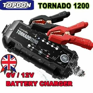 Smart Car Battery Charger Automatic Pulse Repair 6V 12V AGM/GEL MAINTAINER UK