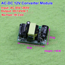 AC-DC Converter AC110v 220v 230v To DC 12v 5w Power Switching Transformer Module