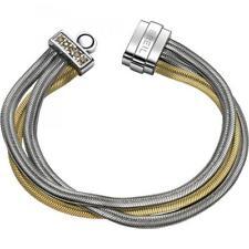 Bracciale Donna BREIL BREILOGY TJ1512 Acciaio Gold Multifilo Swarovski Small