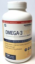 Ocean Blue Professional Omega-3 2100, 120 Softgels Orange Flavor exp 2021+ 9038