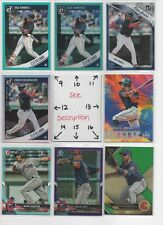 Cleveland Indians * SERIAL #'d ROOKIES AUTOS JERSEYS * ALL CARDS ARE GOOD CARDS*