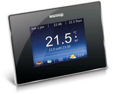 Warmup - 4iE Smart WiFi Thermostat - Onyx Black