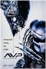 ALIEN VS PREDATOR - 2004 - Original 27x40 movie poster - Advance of both