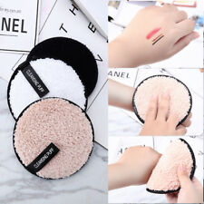 Microfiber Plush puff Makeup Remover Towel Face Cleaner Cleansing Cloth Pads AU