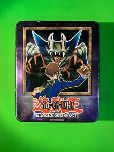 Yu-Gi-Oh! Sealed 2002 Seto Kaiba & Lord of D. Collector's Tin with LOB Booster
