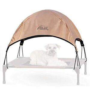K&H Pet Products Pet Cot Canopy - Tan, Medium 25 X 32 Inches