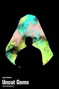 Uncut Gems Movie Poster 12 x 18 Inches Adam Sandler