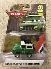 """Disney Planes Planes Diecast""""Sold Out!!Secretary Of the Interior!!"""
