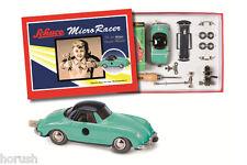 """Schuco Micro Racer """"Porsche 356"""" Montagekasten, grün-grau  NEU Ovp."""