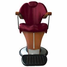 Poltrona barbiere uomo Pietranera - Mythos con pompa idraulica, metallo cromato