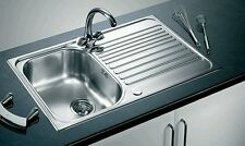 Blanco Toga 45 S 1.0 Stainless Steel 18/10 Single Kitchen Sink Reversible (B)