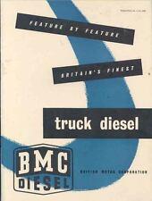 1954 BMC 3.4 Litre Diesel Truck Engine Brochure wk2593-WDO19C