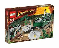LEGO 7626 Jungle Cutter NEW Indiana Jones Kingdom of the Crystal Skull Indy