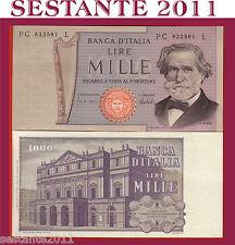 ITALY  ITALIA  1000 1.000 LIRE VERDI 2° TIPO 5.8. 1975,   P. 101d,    FDS / UNC