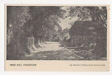 Folkestone, Frog Halt, Hamlin Postcard, A702