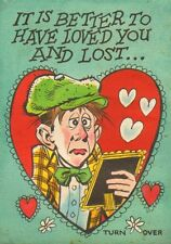 Funny Valentines Topps Original Card Art - 1960's art by Jack Davis