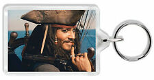 Johnny Depp 002 (Jack Sparrow) Keyring / Bag Tag *Great Gift*