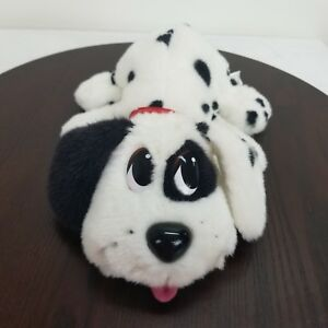 """Mattel Pound Puppy Dalmatian Plush Interactive Barks Pants Whines Head Moves 13"""""""