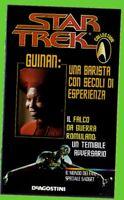 STAR TREK collection GUINAN barista+falco da guerra ROMULANO opuscolo