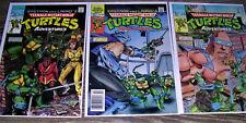 Eastman Laird's TMNT Ninja Turtles Archie Comics 1988 3 Part Series #'1,2,3 NM