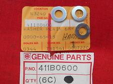 Kawasaki Plain Washer 6MM 69-71 A1 A7SS 67-71 A1SS  A7 73-75 F11 411B0600 QTY3