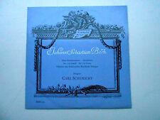 LP MMS 2231 BACH Zwei Orchestersuiten / 2 suites ( dir : Carl SCHURICHT )