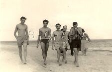 WWII German RP- Soldier- Semi Nude- Gay Interest- Swimsuit- At The Beach- R&R