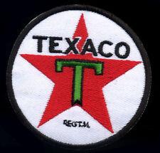 Texaco patch badge gas station star gasoline motor oil hot rod drag race retro