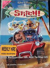 Stitch - The Movie (DVD, 2003) Region 4